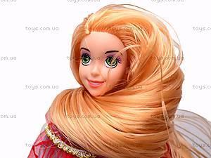 Кукла музыкальная детская «Рапунцель», CQS-14-R7, фото