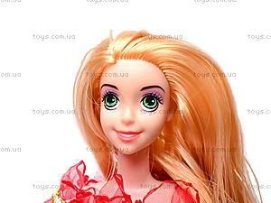 Кукла музыкальная детская «Рапунцель», CQS-14-R7, отзывы