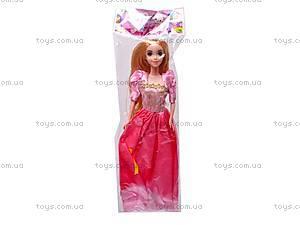 Кукла музыкальная детская «Рапунцель», CQS-14-R7, игрушки
