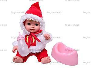Кукла музыкальная «Малышки» с набором аксессуаров, 13007-2A, фото