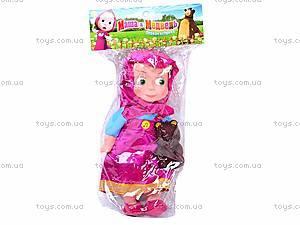 Кукла музыкальная «Маша и медведь», 36047-3