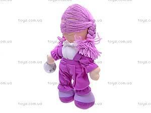 Кукла музыкальная с косичками, R0114F, купить