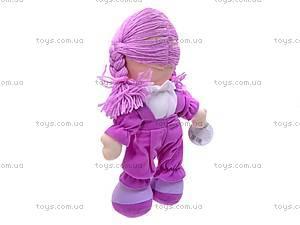 Кукла музыкальная с косичками, R0114F, отзывы