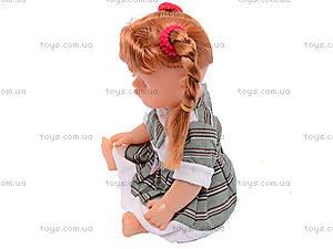 Кукла музыкальная, в рюкзаке, AV5039/40/41/, купить