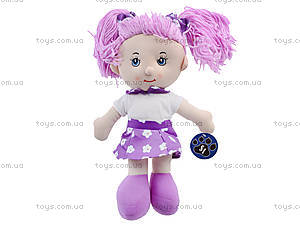Кукла мягкая для детей «Катюша», CM1409, фото
