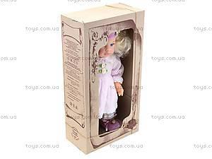 Кукла мягкая «Анночка», B140, фото