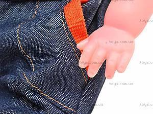 Кукла мягкая «Сашенька», M1101, фото