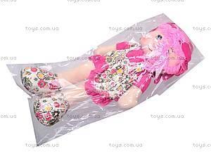 Кукла мягкая в платьице, 52020, купить