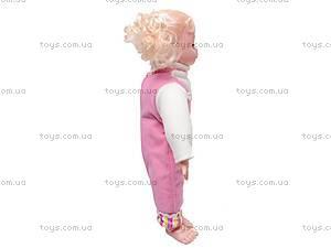 Кукла «Настя» с русской озвучкой, YL1663D, купить