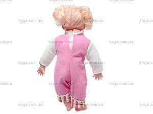Кукла «Настя» с русской озвучкой, YL1663D, фото