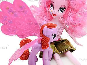 Кукла-пони My Little Pony с питомцем, Y662C, фото