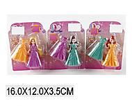 Кукла «Принцесса» с красивым платьем в наборе, SS001, фото
