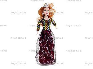 Детская кукла «Принцесса в короне», 1438, купить