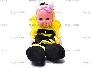 Кукла «Пуговка», в костюме пчелки, 080206, фото
