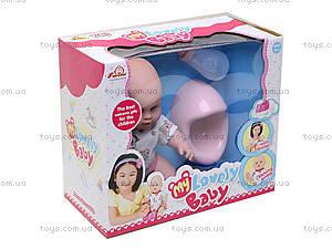 Кукла-пупс интерактивная Lovely Baby, 13014, цена