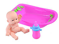 Кукла-пупс в ванночке, KY585-58, отзывы