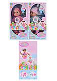 Кукла-пупс 35см ароматизированный, интерактивный, разные виды, XMY81758176