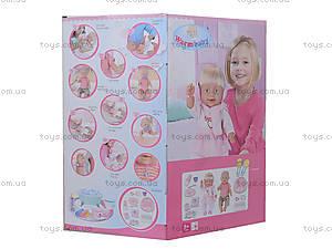 Кукла - пупс интерактивная с аксессуарами, 8004-401A, фото