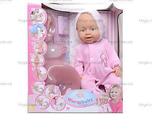 Кукла - пупс интерактивная с аксессуарами, 8004-401A, цена