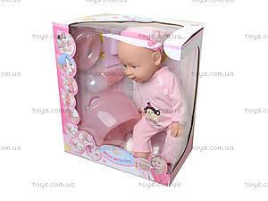 Кукла - пупс несколько функций, можно купать, 8004-402B403A, купить