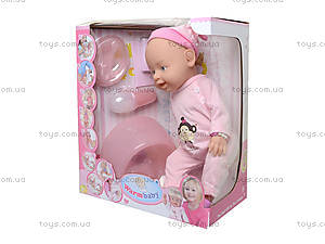 Кукла - пупс несколько функций, можно купать, 8004-402B403A, цена