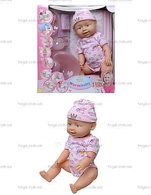 Кукла-пупс с несколькими функциями, 8004-408A