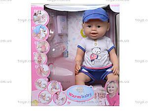 Кукла интерактивная с аксессуарами, 8004-414, отзывы