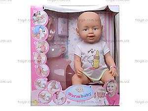 Интерактивная кукла - пупс с функциями, 8004-415, отзывы