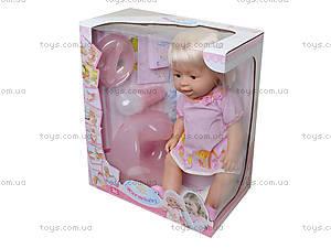 Кукла - пупс для малышек, можно купать, 8006-406G, фото