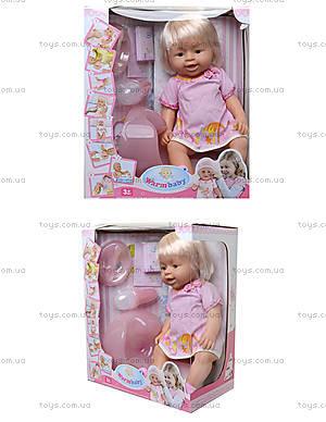 Кукла - пупс для малышек, можно купать, 8006-406G