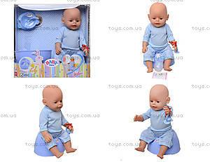 Интерактивная кукла - пупс с эффектами, 807866-1E