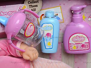 Интерактивная кукла-пупс для детей, 87001, фото