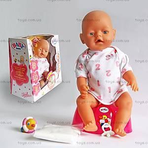 Кукла-пупс Baby для детей, 058 (80058)