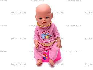 Кукла-пупс Baby Doll интерактивная, 8001-3
