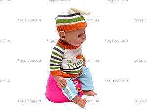 Кукла-пупс Baby Doll мальчик, 8001-Q, детские игрушки