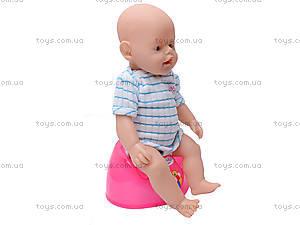 Кукла-пупс Baby Doll, с аксессуарами, 80058, фото