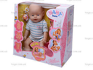 Кукла-пупс Baby Doll, с аксессуарами, 80058, цена