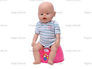 Кукла-пупс Baby Doll, с аксессуарами, 80058