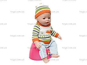Кукла-пупс Baby Doll мальчик, 8001-Q, toys.com.ua