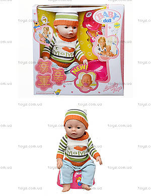 Кукла-пупс Baby Doll мальчик, 8001-Q