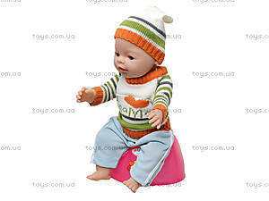 Кукла-пупс Baby Doll мальчик, 8001-Q, детский