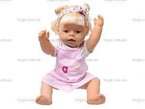 Кукла-пупс «Baby Toby», 8 функций, 30712A3, игрушки
