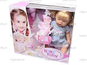 Кукла-пупс «Baby Toby» с аксессуарами, 30712B14