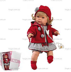 Кукла-пупс для детей «Анна», 42108