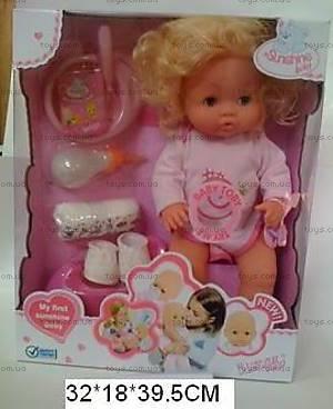 Кукла-пупс для детей, с аксессуарами, 82001-8B