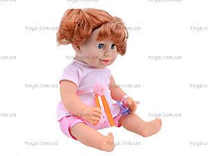 Кукла-пупс функциональная Baby Toby с аксессуарами, 30715A7, игрушки