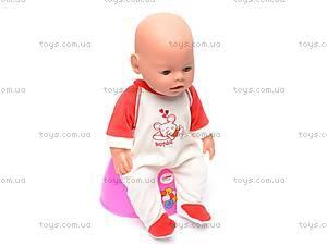 Кукла-пупс, интерактивная, 8002-6