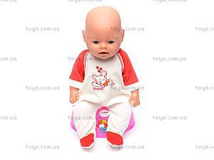 Кукла-пупс, интерактивная, 8002-6, фото
