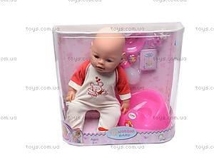 Кукла-пупс, интерактивная, 8002-6, цена