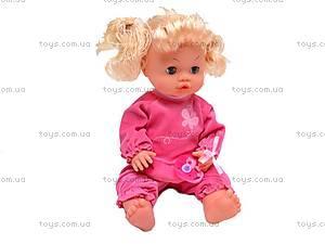 Кукла-пупс интерактивная Baby Toby, 30700A1